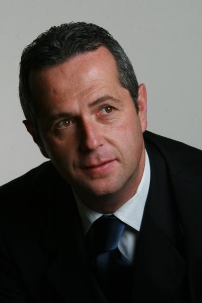 Il sindaco di Abbateggio, Antonio Di Marco