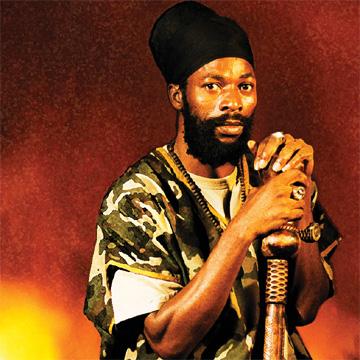 Il cantante reggae Capleton