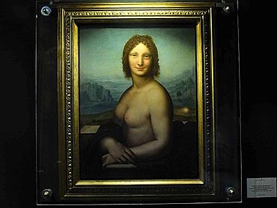 La Gioconda nuda, in mostra a Pescara
