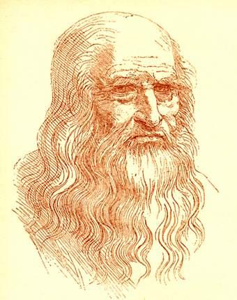 Il celebre autoritratto di Leonardo da Vinci