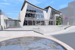 Il progetto di ristrutturazione del mercato in via Muzii