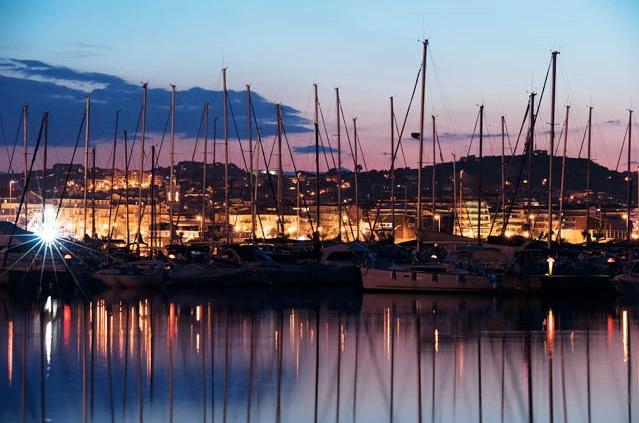 Una veduta del Marina di Pescara