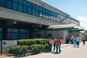 La sede dell'Università in viale Pindaro a Pescara