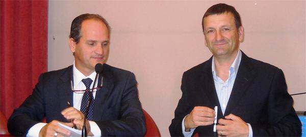 Mario Lattanzio e Luciano Frittelli