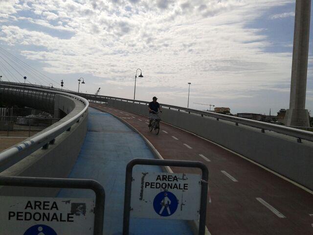 Riaperto il ponte del mare dopo l 39 incidente dello scorso for Ponte sopra i disegni del garage
