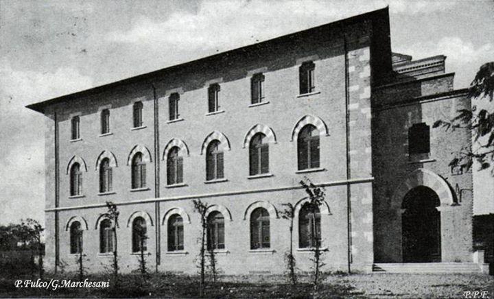 Via del Santuario Chiesa dei Gesuiti - Cartolina del 15-9-1935 - P. Fulco