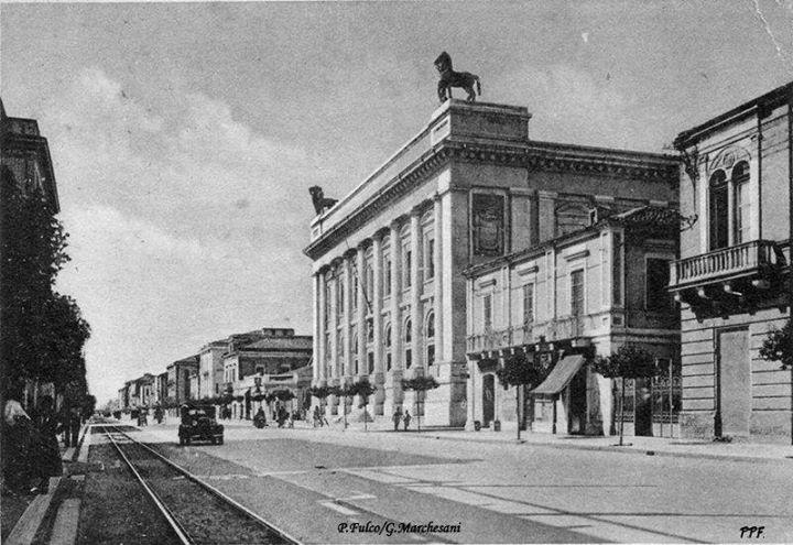 Palazzo delle Poste Centrali foto del 1941 - P. Fulco