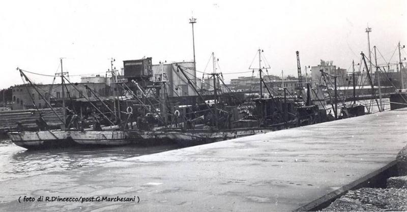 1972, chiusura del porto canale a protesta contro il Ministero per il salasso carburante
