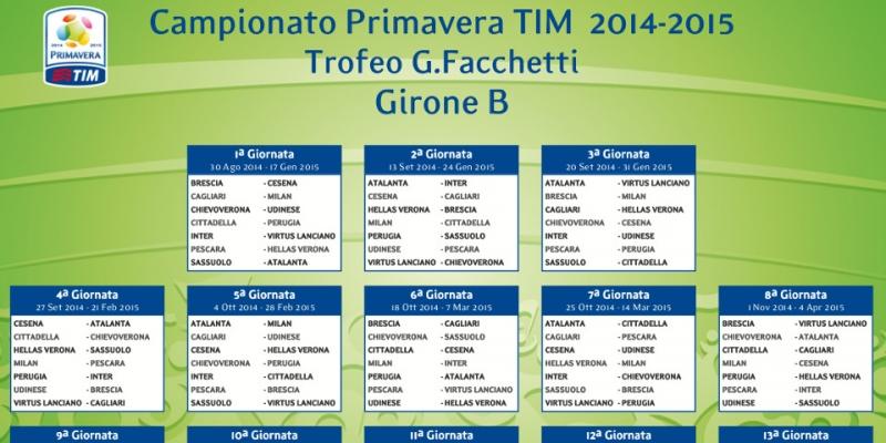 Campionato Primavera Calendario.Calendario Primavera 2014 2015 Il Pescara Esordisce Contro L