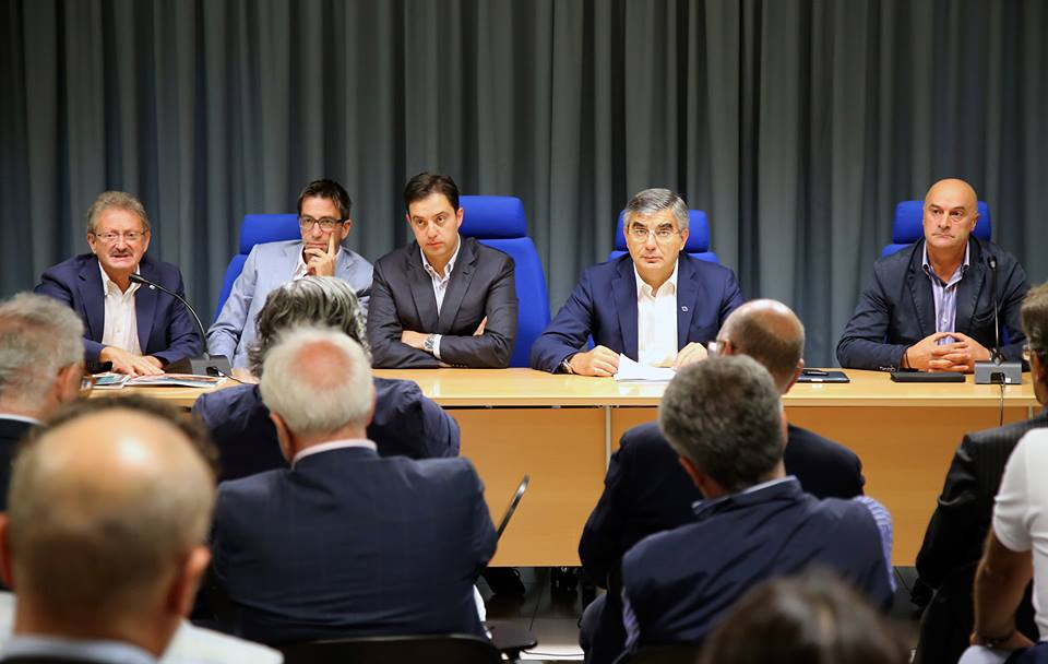 Presentazione Governance Turistica presso Sala Blu Regione Abruzzo - Pescara