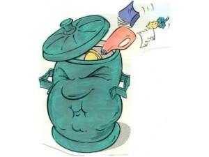rifiuti stanchi a Montesilvano