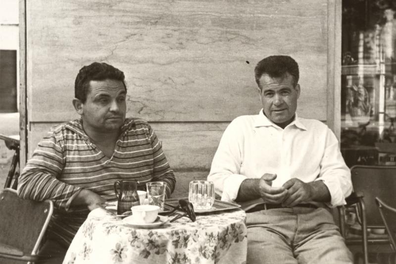 Duccio Gammelli con Vicentino Michetti