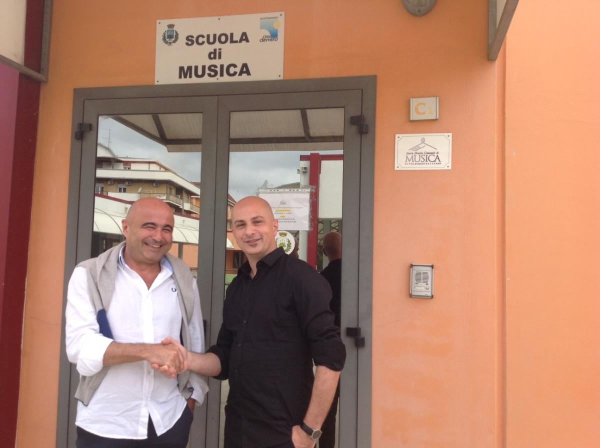 La scuola di musica di montesilvano firma una convenzione for Magri arreda pescara