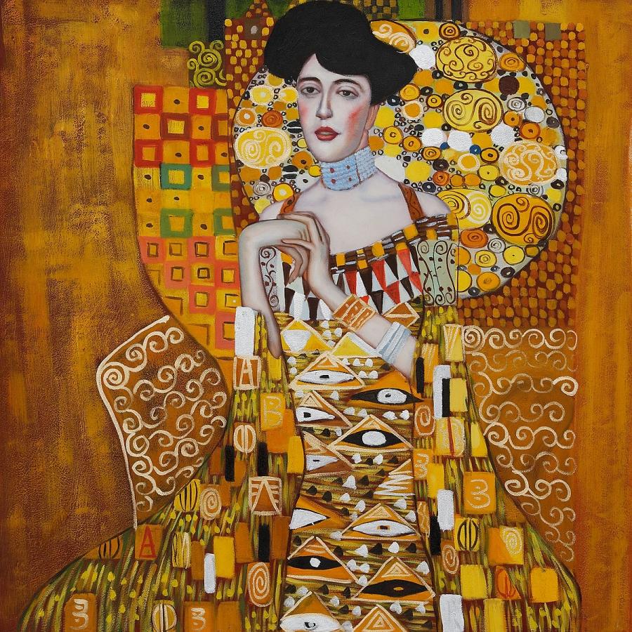 Ritratto di Adele Bloch Bauer - Gustav Klimt (1907)