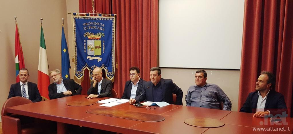 Antonio Di Marco, Massimo Palladini, Claudio Varagnoli, Antonio Blasioli, Licio Di Biase, Francesco Di Gennaro, Marco Sciarra