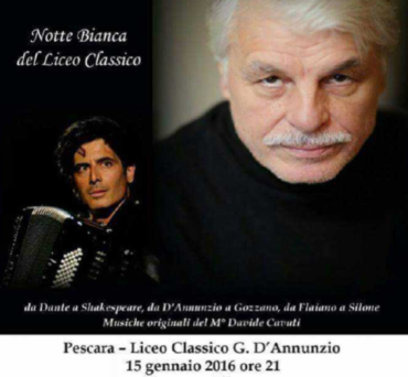 Michele Placido e Davide Cavuti