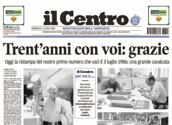 Gruppo Espresso cede i quotidiani il Centro e la Città di Salerno