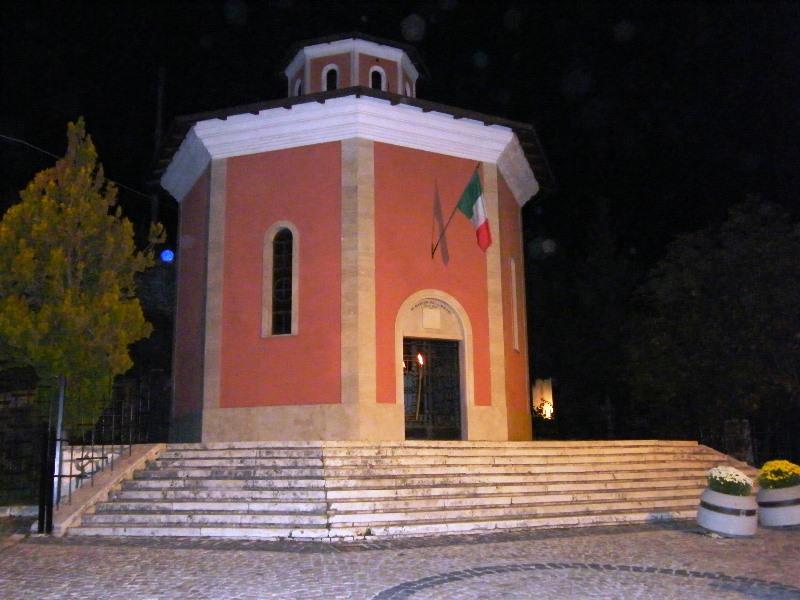 Il tempio che ricorda l'eccidio