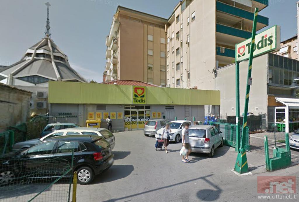 Il Todis di Via Gobetti a Pescara