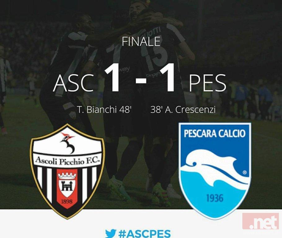 Ascoli Pescara 1-1
