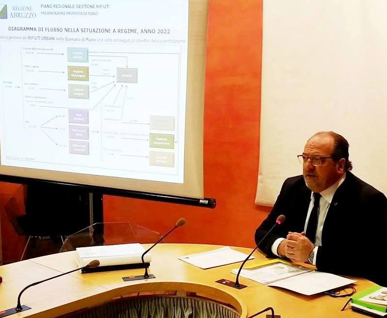 Sottosegretario con delega all'Ambiente Mario Mazzocca