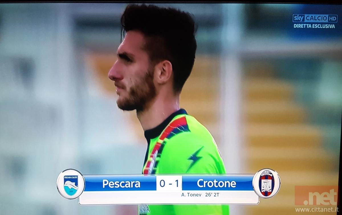 Pescara - Crotone 0 - 1
