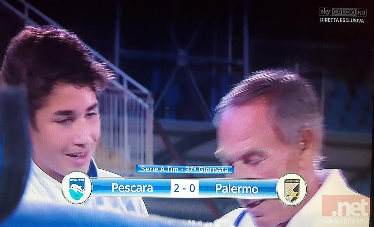 Pescara - Palermo 2-0