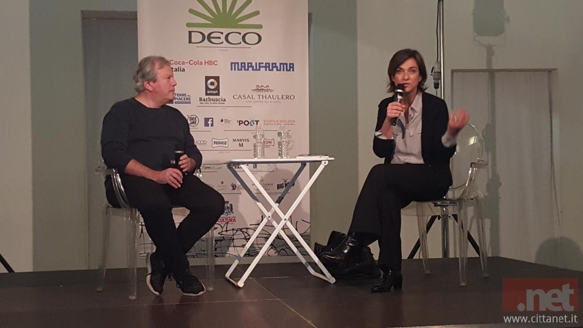 Dario Voltolini e Daria Bignardi