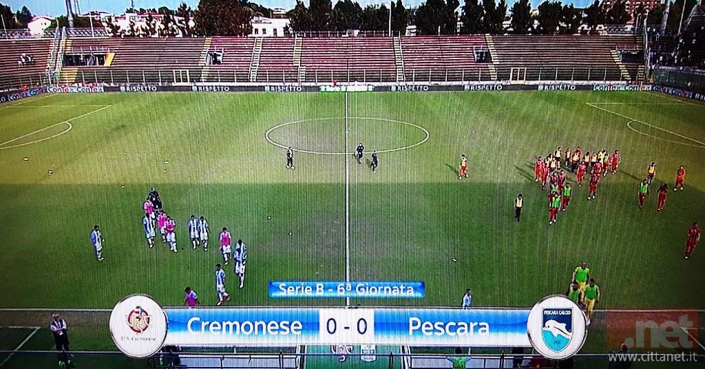 Cremonese Pescara 0.0