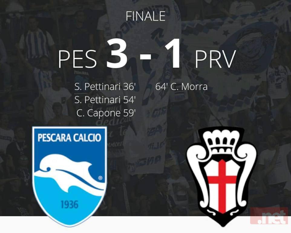 Pescara Pro Vercelli 3-1