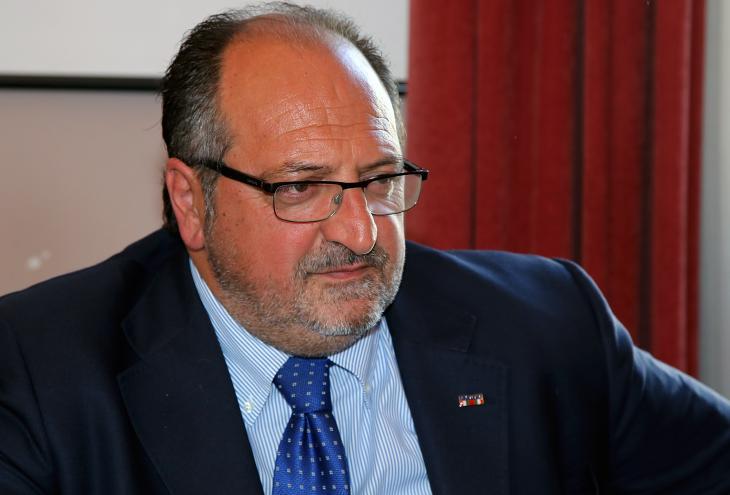 Sottosegretario d'Abruzzo delegato all'Ambiente Mario Mazzocca