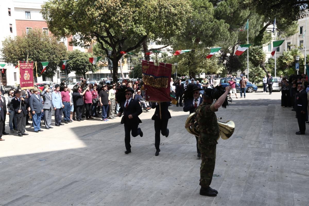 Pescara, il gran giorno dei Bersaglieri PROGRAMMA E MAPPA SFILATA