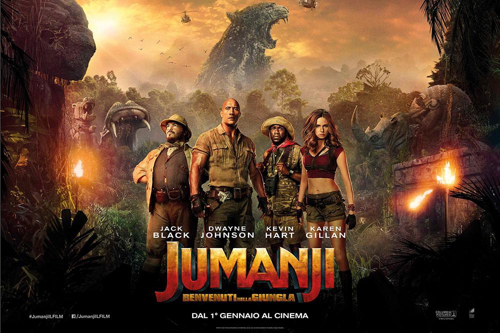 jumanji benvenuti nella giungla