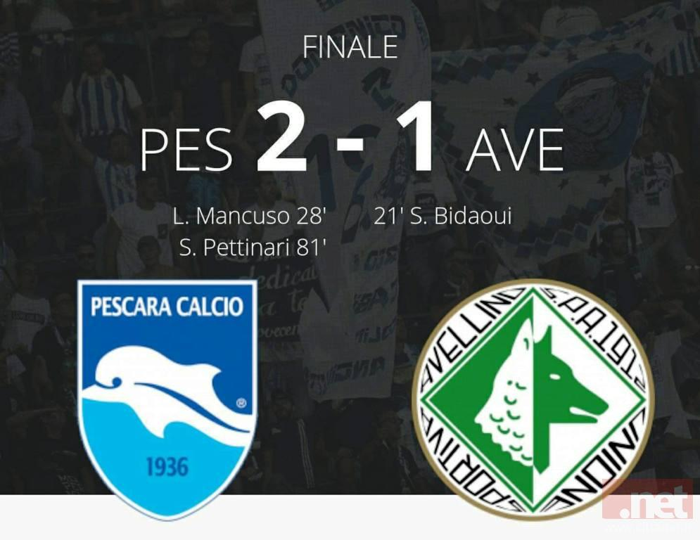 Pescara Avellino 2-1