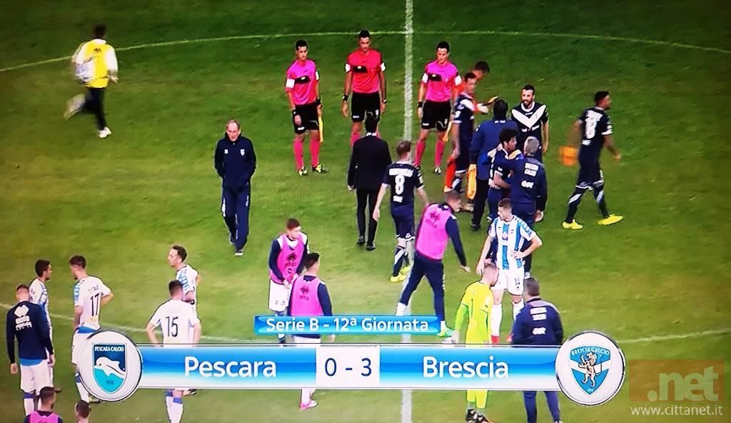 Pescara Brescia 0 - 3
