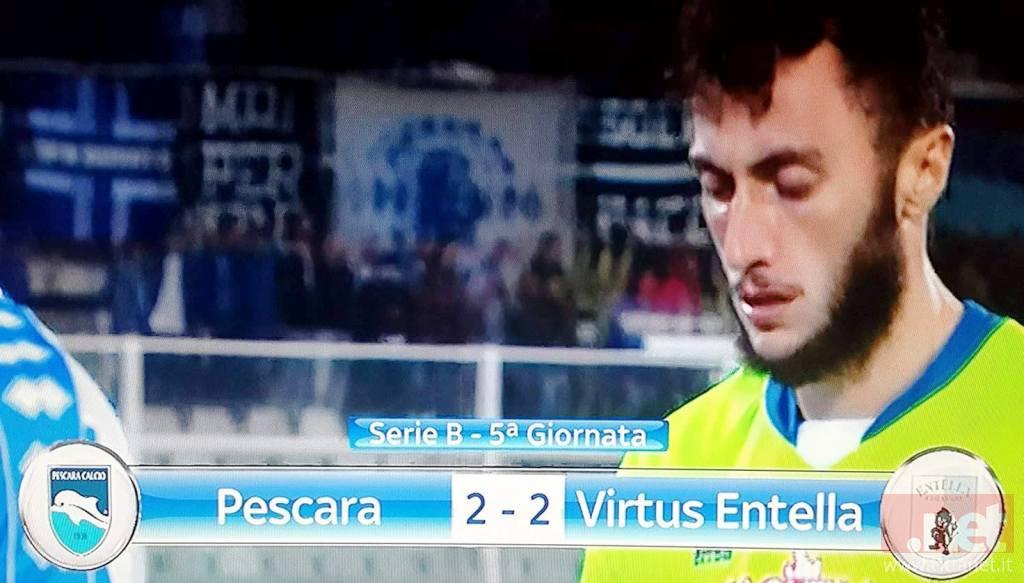 Pescara V. Entella 2 - 2
