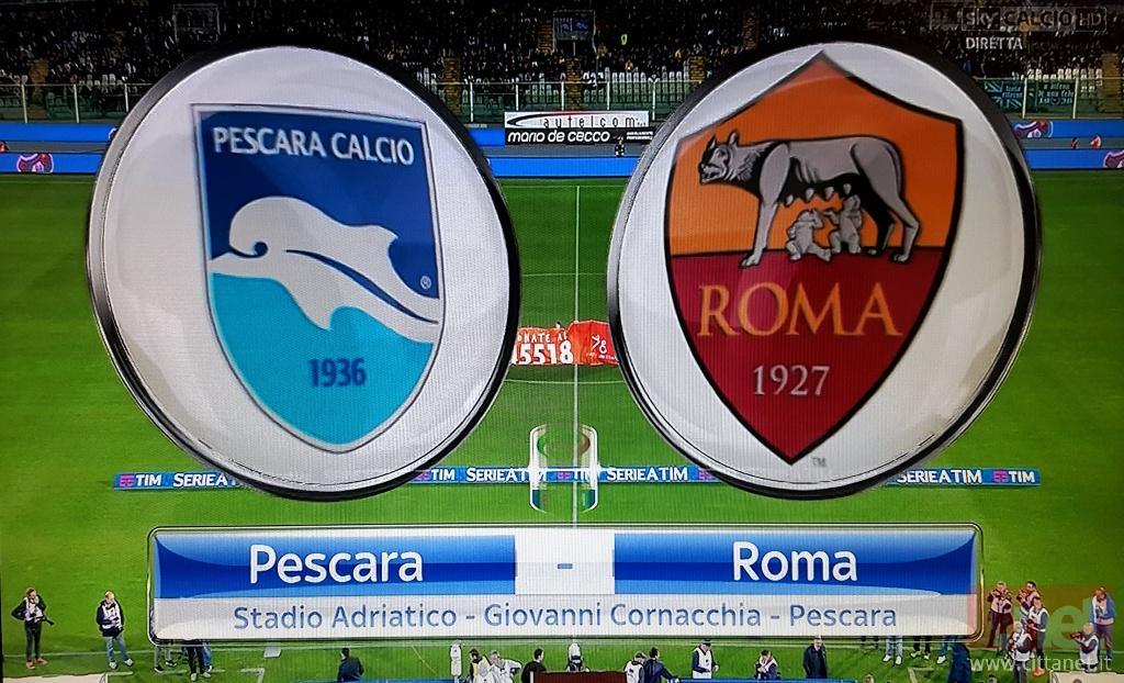 Pescara Roma 1 - 4