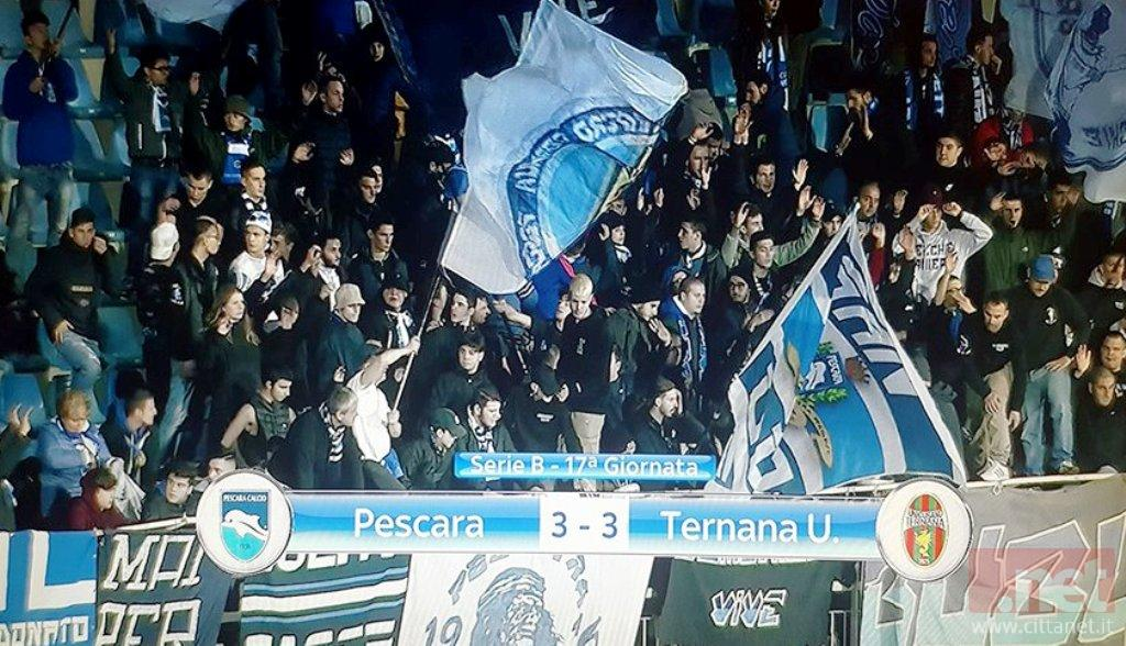 Pescara Ternana 3-3