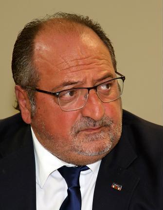 ll Sottosegretario alla Presidenza d'Abruzzo Mario Mazzocca