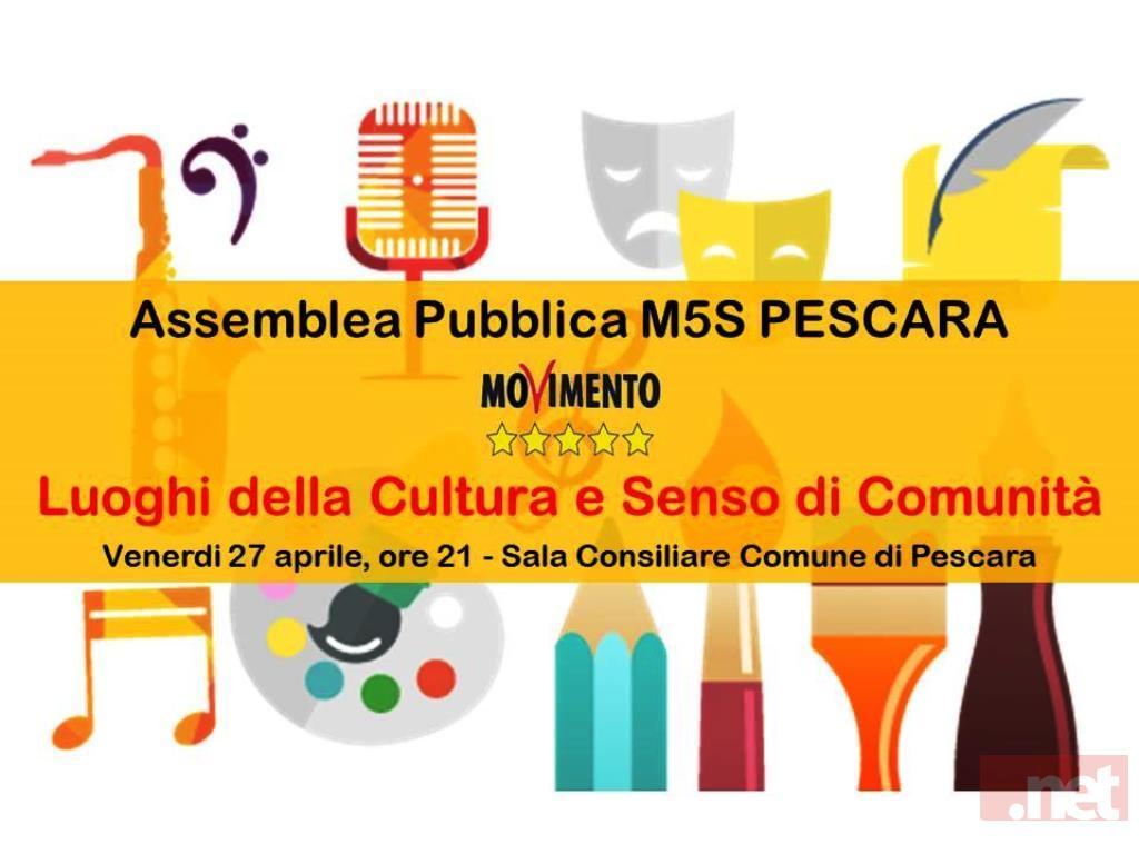 Assemblea Pubblica M5S Pescara