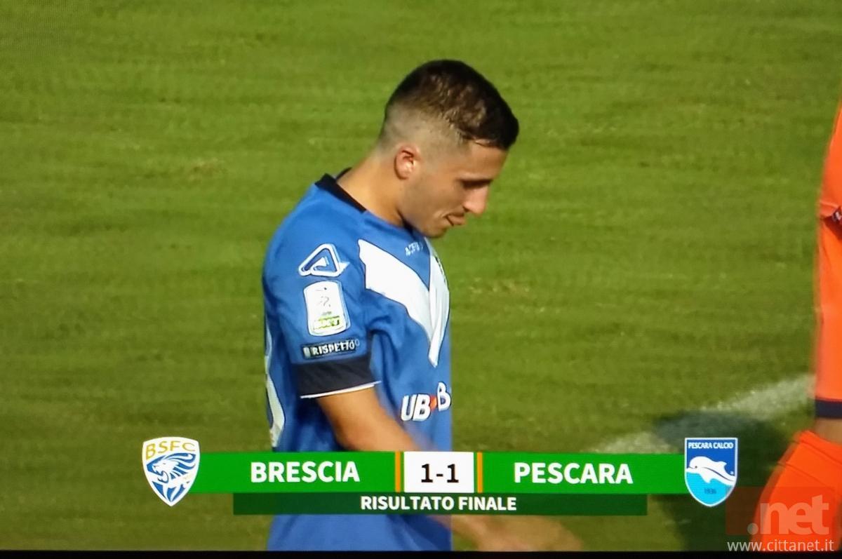 Brescia Pescara 1-1