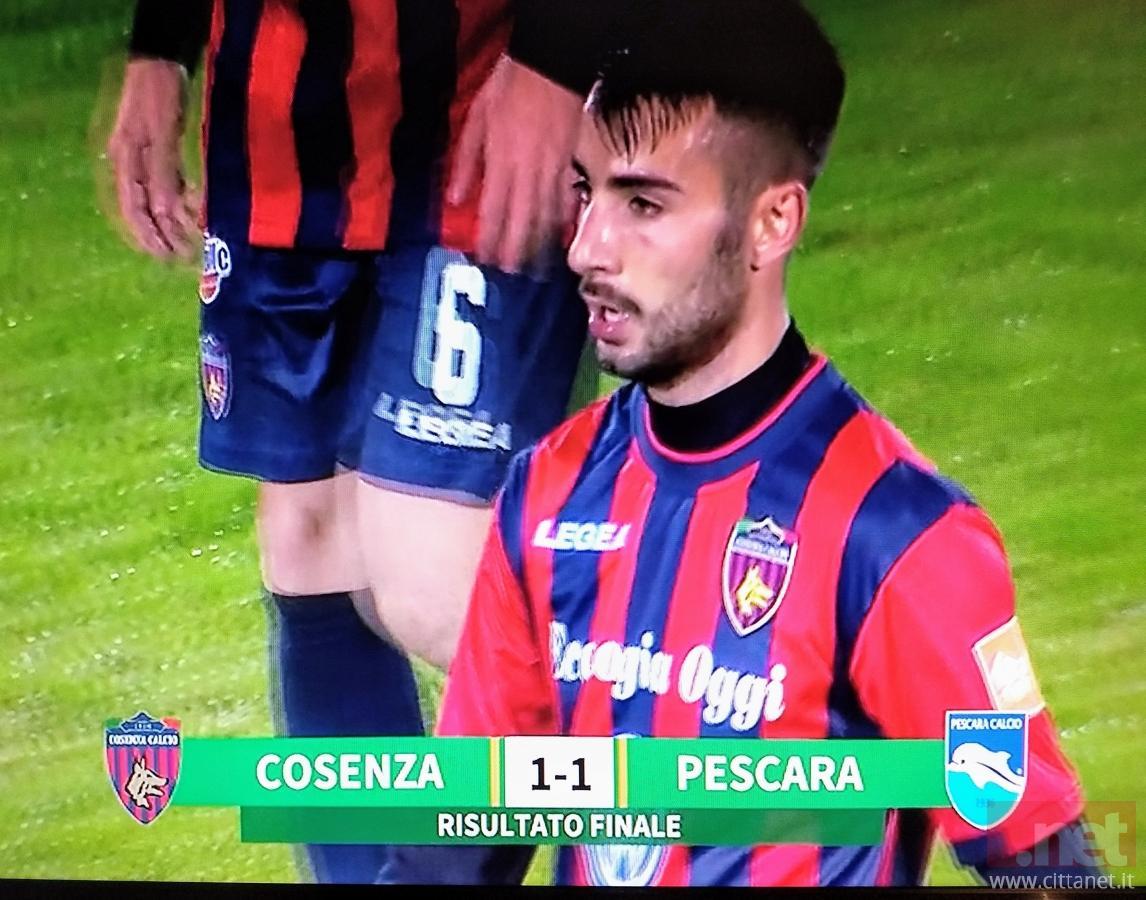 Cosenza Pescara 1-1