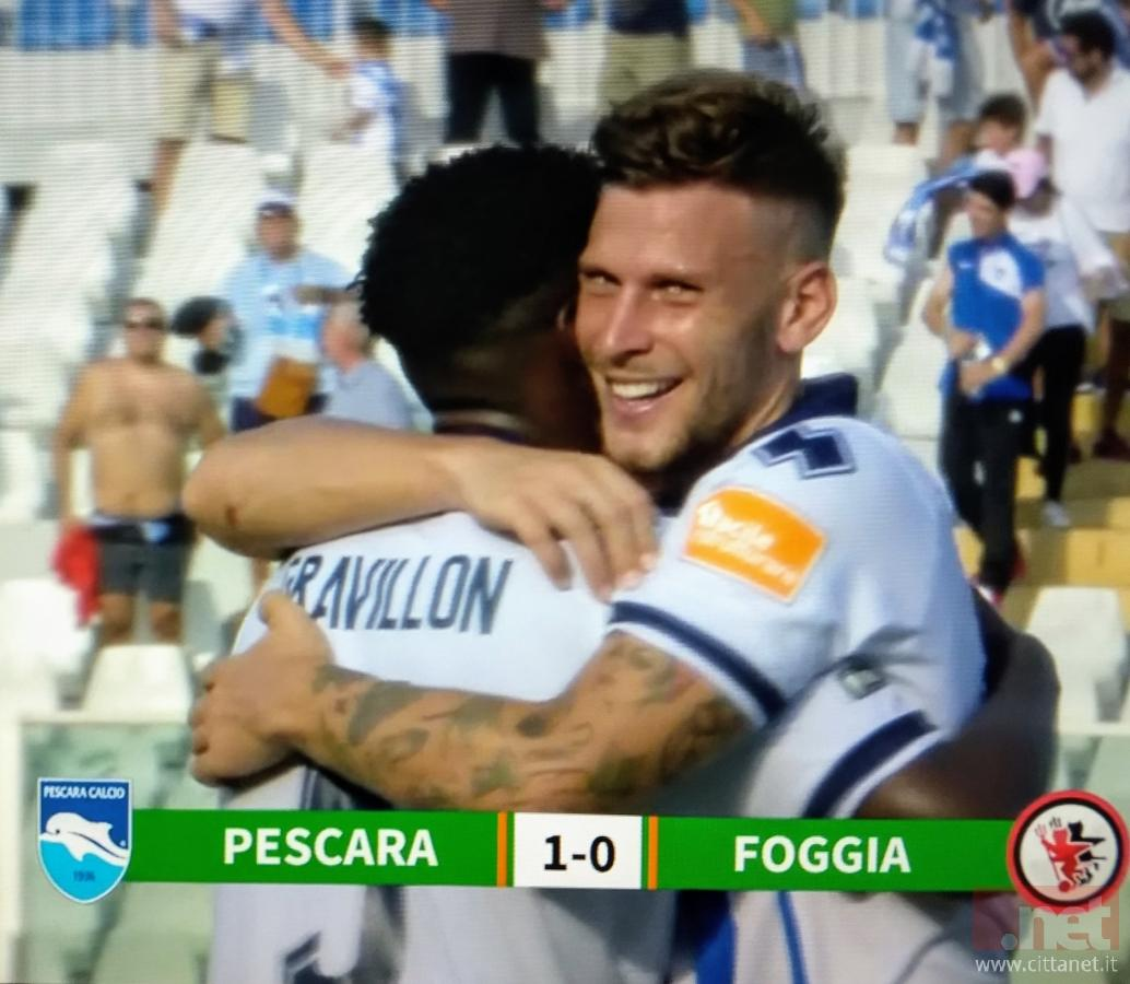 Pescara Foggia 1-0