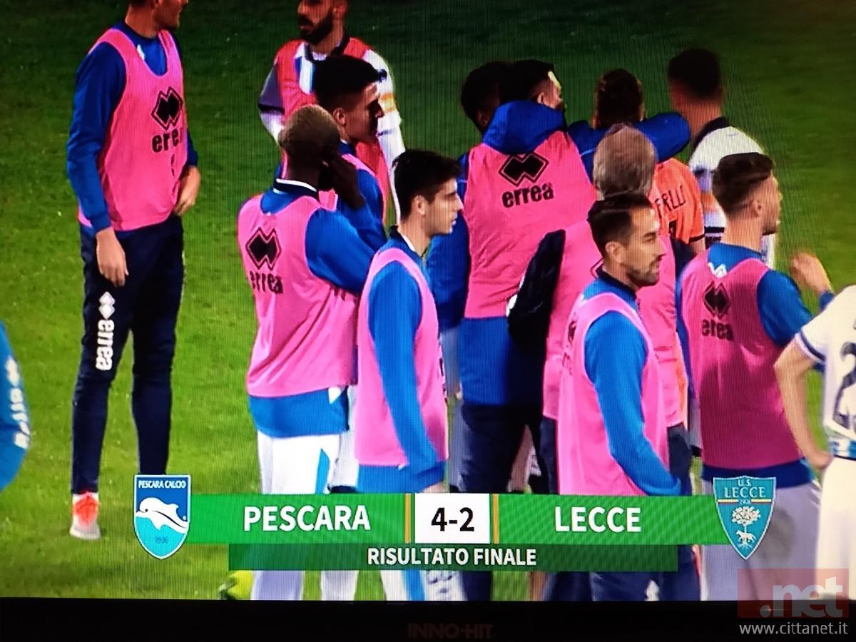 Pescara Lecce 4-2