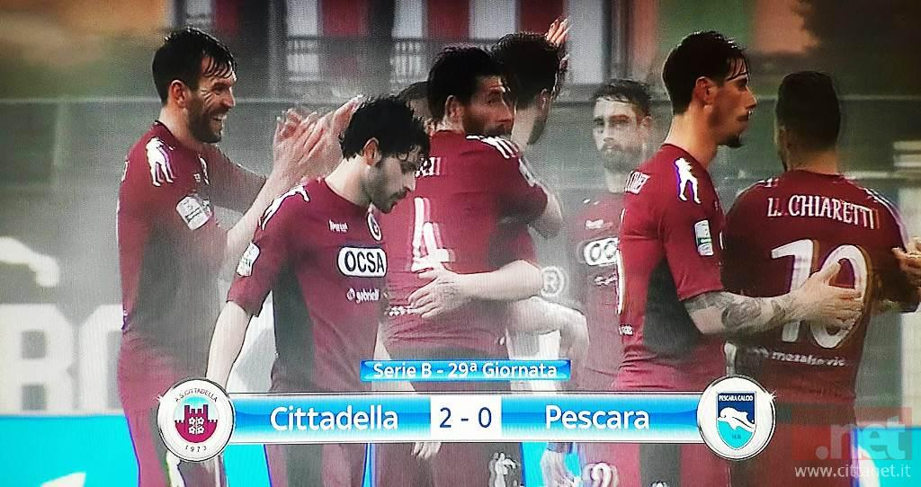 Cittadella Pescara 2-0