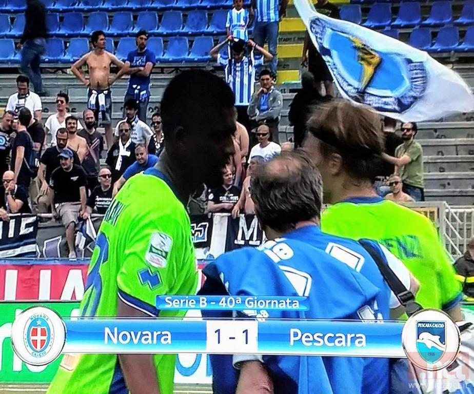 Novara Pescara 1-1