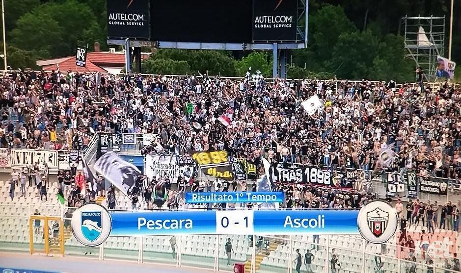 Pescara Ascoli 0-1