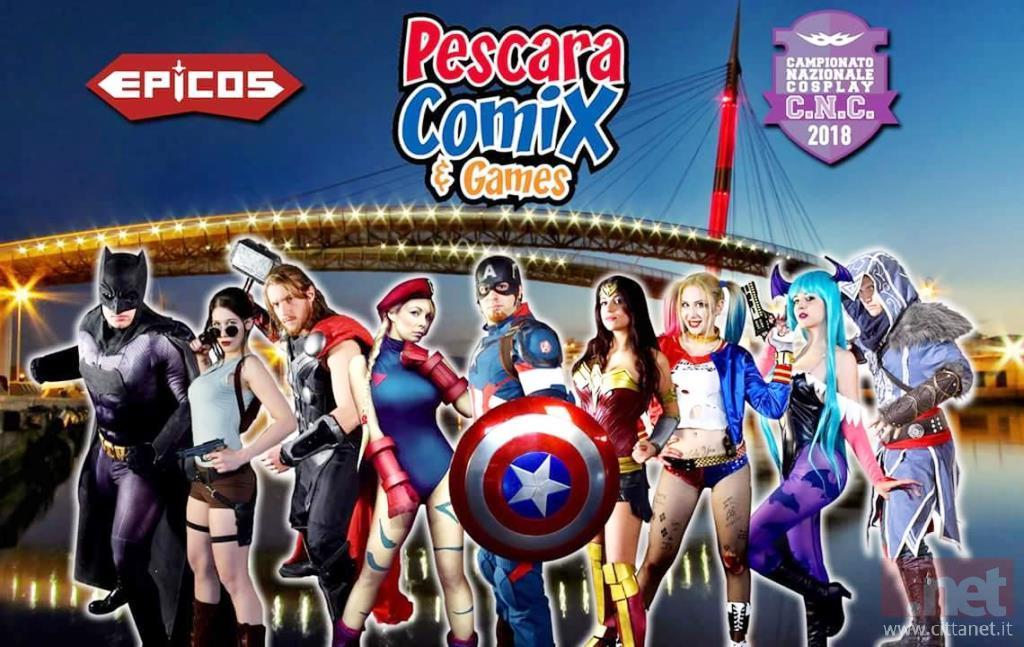 Pescara Comix & Games 2018