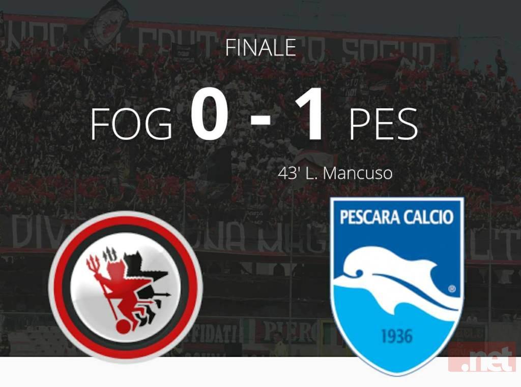 Foggia Pescara 0 - 1