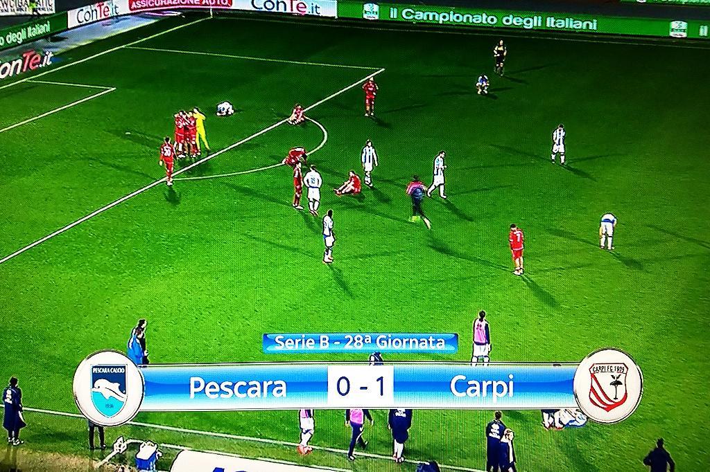 Pescara Carpi 0-1